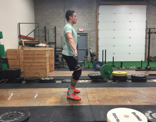 The Feet At The Power Position
